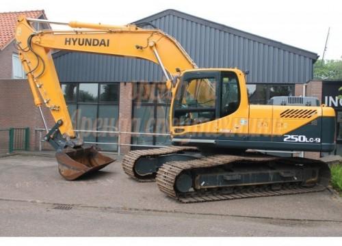 Экскаватор Hyundai 250